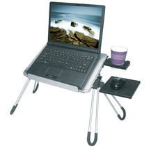 E-Stand Aluminum Multi purpose Laptop Stand Desk Mouse Pad Cup Holder (S... - $1.714,21 MXN
