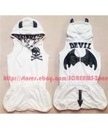 Gyaru Tutuha Glavil Punk Devil Horns Wings Goth Leopard Hoodie Rompers J... - $220.00