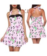 Hell Bunny Zombie Unicorn Dress Visual Kei Goth Pin Up Retro Punk Rockab... - $185.00