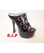 Punk Platform Buckle Up Open Toes Cyber Heel Goth Sandal Demonia Hot Top... - $189.00