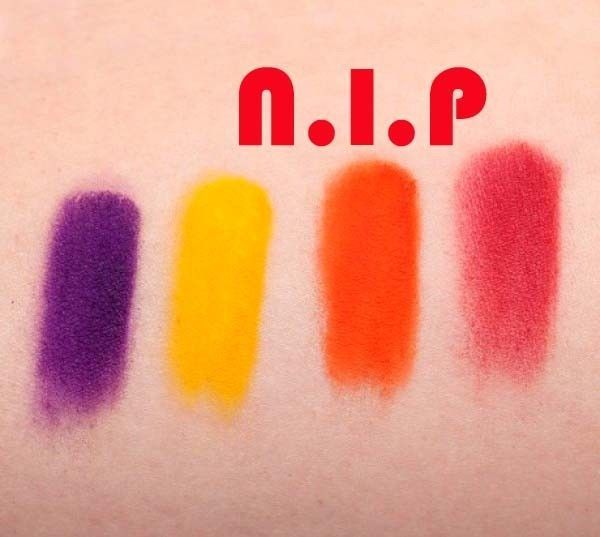 Sugarpill Cosmetics BURNING HEART Pressed Powder Warm Matte Eye Shadow Palette