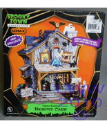 Lemax Halloween Spooky Town lighted Building Ha... - $65.00