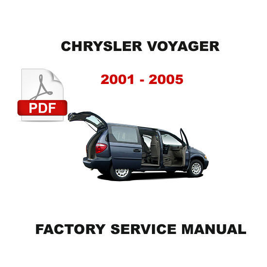 2001  2005    CHRYSLER       VOYAGER         GRAND       VOYAGER    ELECTRICAL WIRING    DIAGRAM    MANUAL  Other Books