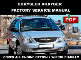 2001 2002 2003 2004 2005 CHRYSLER VOYAGER FACTORY OEM SERVICE REPAIR FSM... - $14.95