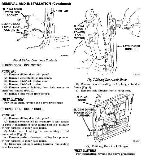 1996 2000 chrysler voyager factory oem and similar items. Black Bedroom Furniture Sets. Home Design Ideas