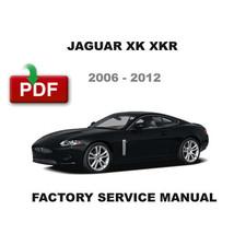 2006   2012 Jaguar Xk Xkr Factory Service Repair Fsm Manual + Wiring Diagrams - $14.95