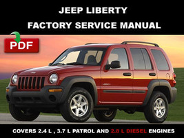 2002 2003 2004 2005 2006 2007 JEEP LIBERTY FACTORY OEM SERVICE REPAIR FS... - $14.95