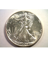 1942 WALKING LIBERTY HALF DOLLAR CHOICE UNCIRCU... - $64.00