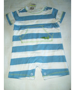 First Impressions Baby Boy Stripped/Alligator Sunsuit, Sz.3-6 Months. NWT - $11.87