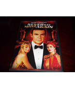 JAMES BOND 007 - Never Say Never Again DVD WIDESCREEN OUT OF PRINT LIKE ... - $29.58