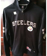 NEW Men's Pittsburgh Steelers Full Zip Mock Tra... - $49.99