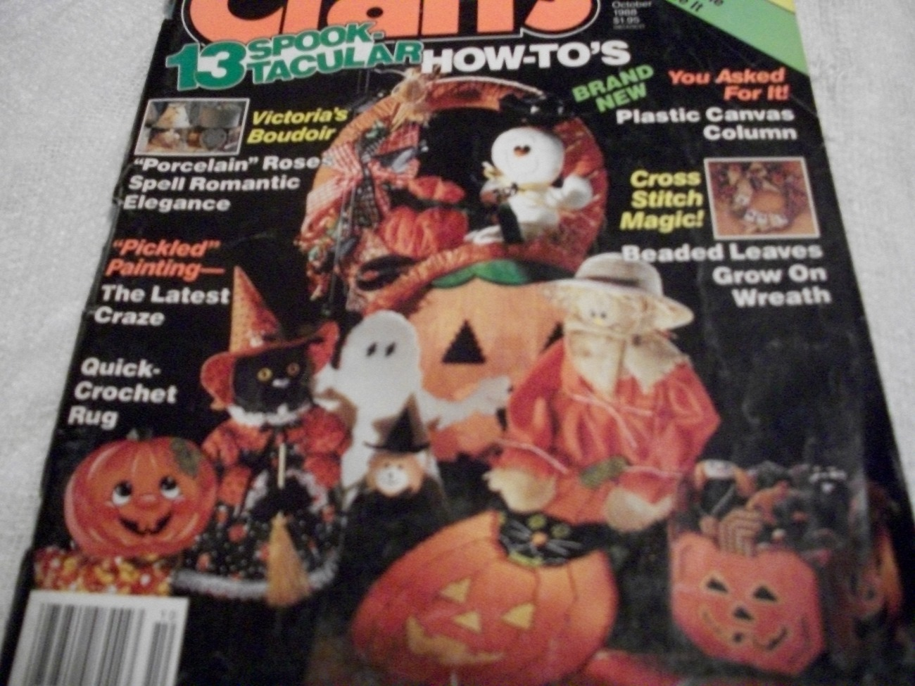 Primary image for Crafts Magazine October 1988