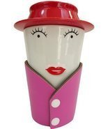 She-Brew Fancy Lady Tea Infuser 4pc Ceramic Mug Set - €15,25 EUR
