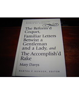 The Reform'd Coquet, Familiar Letters Betwixt a Gentleman & a Lady by MA... - $38.62