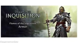 DRAGON AGE 3 FLAMES OF THE INQUISITION ARMOR DL... - $5.86