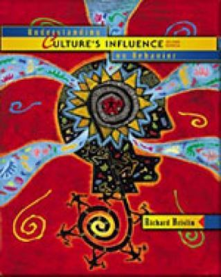 Primary image for Understanding Culture's Influence BY RICHARD BRISLIN (1999) 2ND US EDITION
