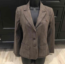 Vince Stripe Twill Jacket Blazer 8 - $139.00