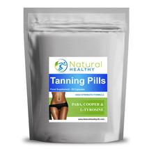 Tan enhancer pills-quick darker, more last-Bronze leather - $10.52