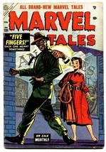 Marvel Tales #131 comic book 1955-Atlas-last pre-code horror-dismembered... - $113.49