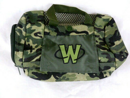 Webkinz Camouflage Camo Zippered canvas Pet Carrier Carry Bag by GANZ 8.... - $7.91