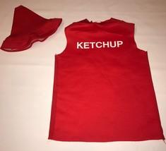 Rasta Imposta Ketchup Squeeze Bottle Halloween Costume Boy Girl 7-10 Tun... - $14.99