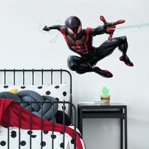 Roommates Spider-Man Miles Morales Peel And Stick Giant Wall Decals, 1 Sheet .. - $29.99