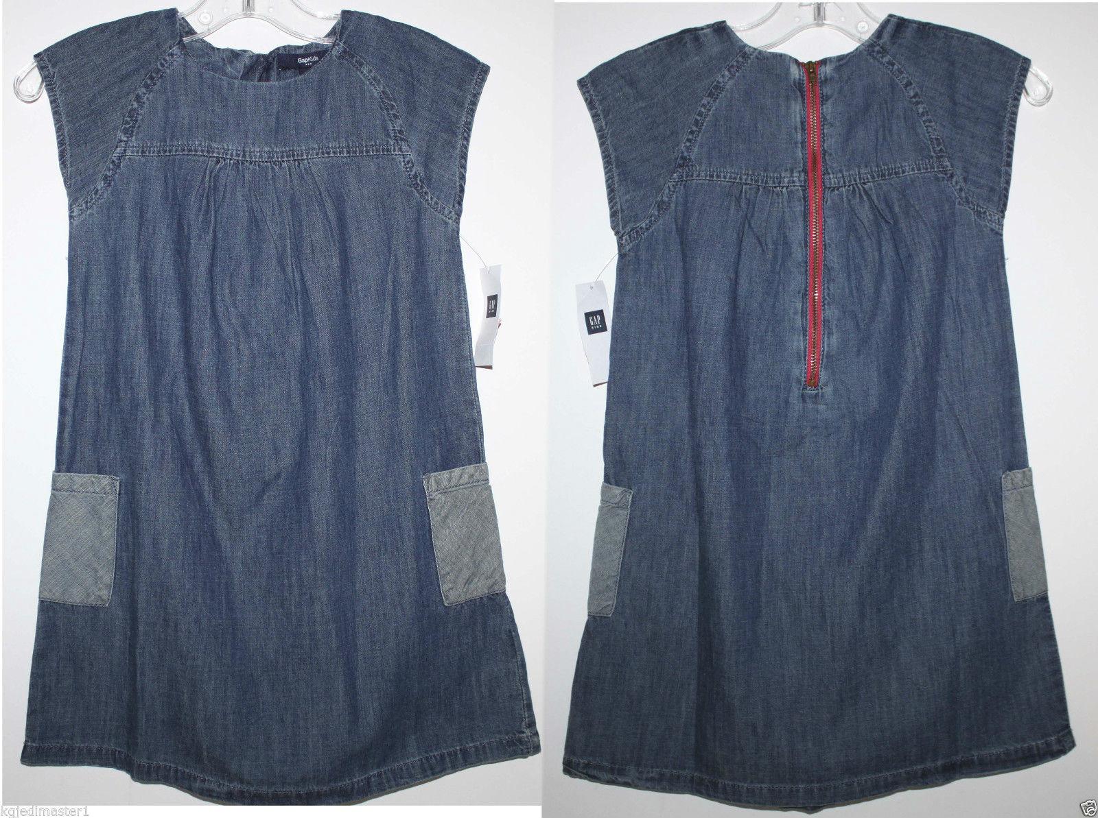 4da495e6fcd Gap Kids NWT Girl's XS 4 5 Blue Chambray and 10 similar items. S l1600