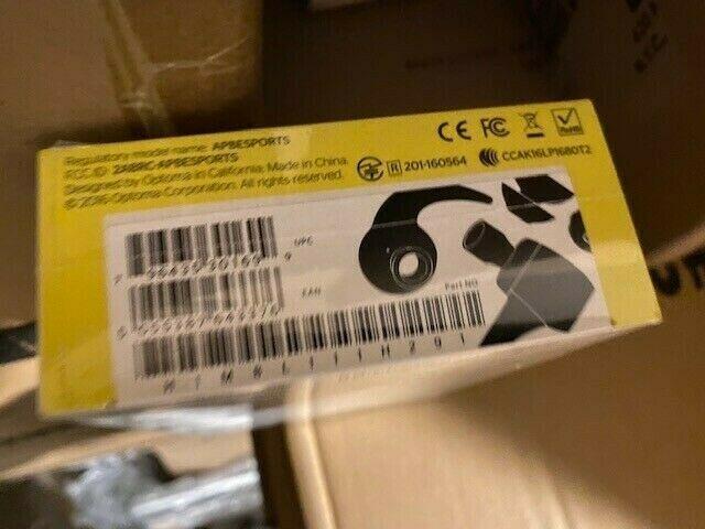 NuForce BE Sport3 Wireless Bluetooth In-Ear Sports Headphones Gunmetal Brand New