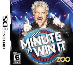 The Minute to  Win it  (Nintendo DS, 2010) Video Game - €7,14 EUR