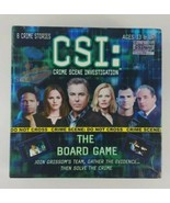 CSI Crime Scene Investigation The Board Game 2004 Specialty  - $12.19