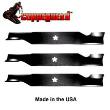 3 Pack Hi Lift Blades fit Craftsman Sears 187254 187256 532187256 for 54... - $30.35