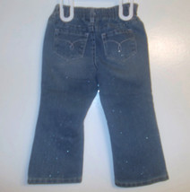 Cherokee Infant Girls Sparkly Light Blue Jeans Size 24 Months NWT - $6.30
