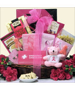 Courage, Hope & Strength: Breast Cancer Gift Basket, Great Arrivals GWCR - $79.37