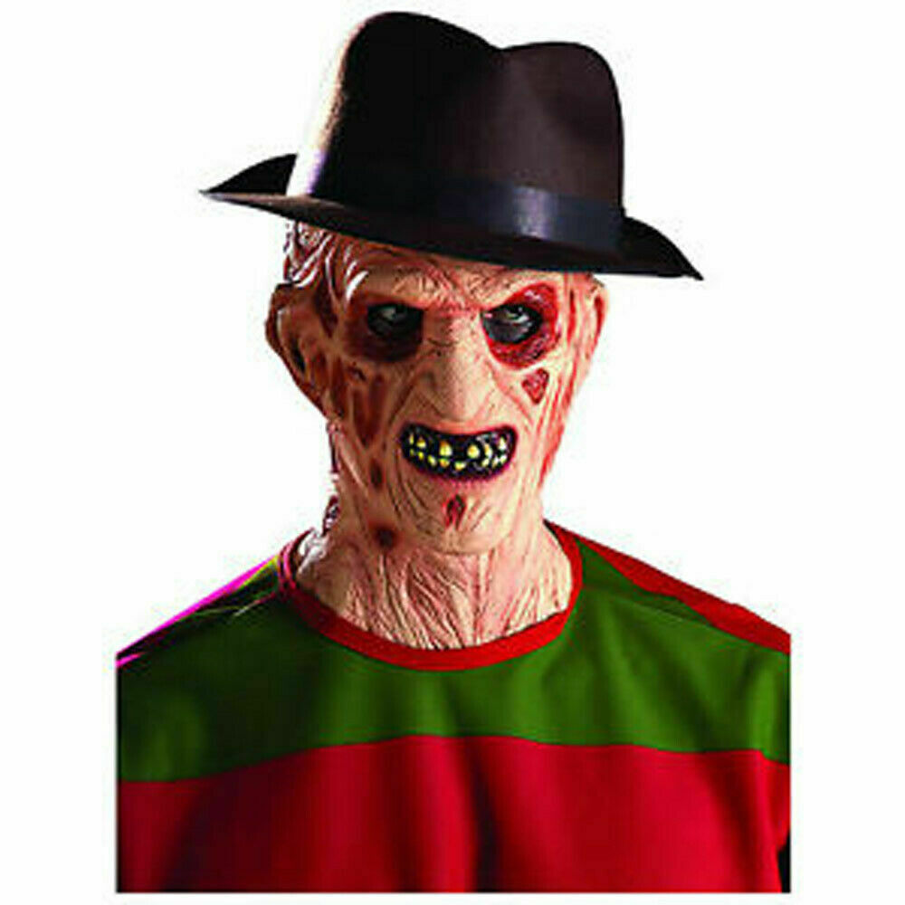 Men's Freddy Krueger Chest of Souls Halloween Costume Kit with Hat and Mask image 3