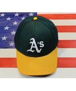 Oakland ATHLETIC Replica Baseball Hat Cap OC Sports Adult MLB Green Yell... - $12.71