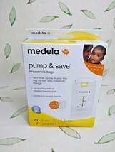 Medela Pump & Save Breastmilk Bags - 20 5 oz Bags & 2 Adapters - $5.93