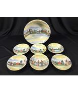 Vintage Eleanor Bavaria 7 Piece Vegetable Bowl Set Netherlands - $39.99