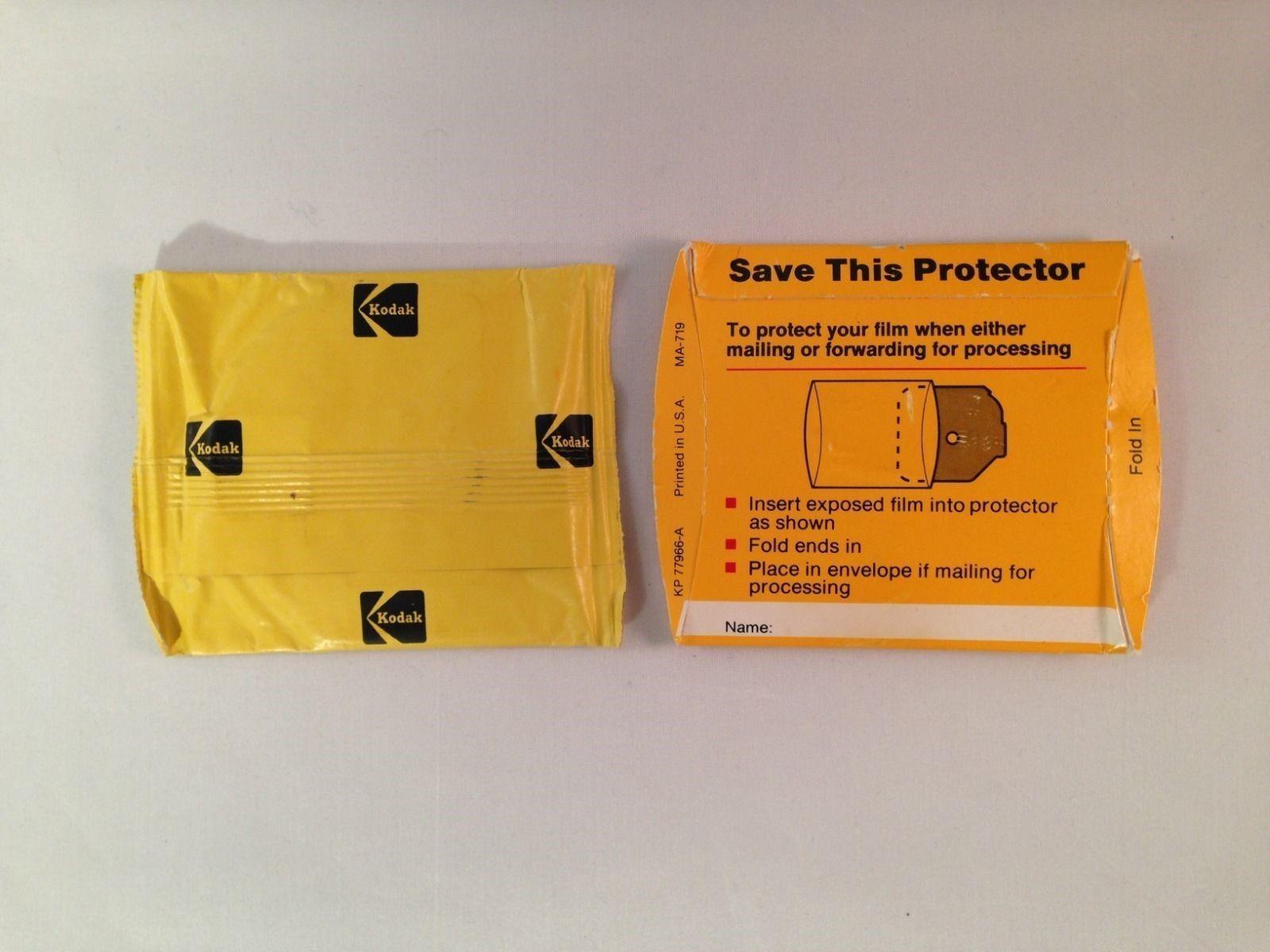 Kodak Film Disc With Protector Sleeve - VTG and 32 similar items