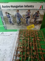 Italeri 1/35 WWI Austro-Hungarian Infantry Plastic Model Kit 6528 - $12.16