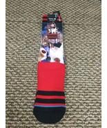 NWT Chicago Bulls Dennis Rodman Stance Socks L/XL (9-13) New With Tags!!! - $12.86