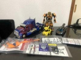 Trans Formers Optimus Bumblebee Lockdown Con Altro Buono Aggiunta - $110.17