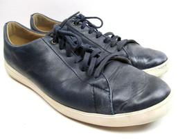 Cole Haan Grand Os Blue Leather Sneakers shoes mens size 11 M - €25,06 EUR