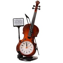 George Jimmy Creative Alarm Clock Fashion Wake Up Alarm Clocks -Violin 02 - $23.10