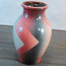 """Bay Keramik Hand-Painted Vase Made In West Germany C.1950'S-60'S abt 5 3/4"""" tall image 6"""