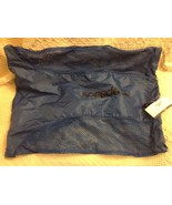"""Speedo Athletic Gear/Gym Blue Drawstring Net Backpack Tote 25""""x19"""" w/Tags - $24.00"""