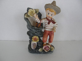 VINTAGE  UCAGCO CERAMIC FLOWER POT VASE-COLLECTIBLE - $11.29