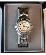Avalon Ladies Sport Dress Quartz Wristwatch With Metal Bracelet And Date - $40.00