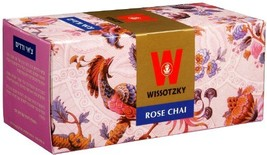 Wissotzky Tea Rose Chai / Box of 25 Bags  - $8.75