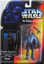 Star Wars: Power Of The Force - Lando Calrissian (1995) *Orange Card / Blaster* - $7.99