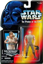 Star Wars: Power Of The Force - Luke Skywalker In Dagobah Fatigues (1995)  *HTF* - $8.99